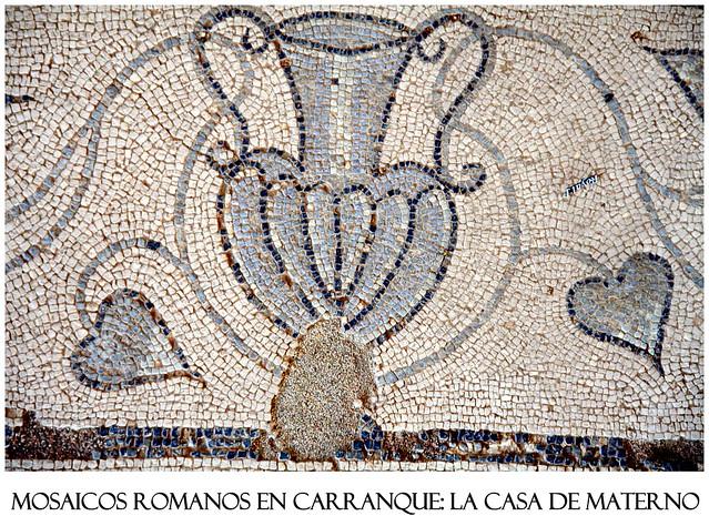 Mosaicos romanos en carranque la casa de materno flickr for Mosaico romano