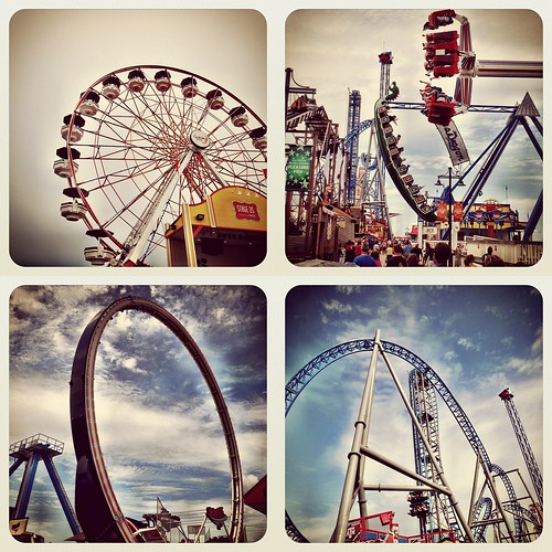 Galveston Pleasure Pier Rides 07/07/2012 - 3 | Instagram Photos
