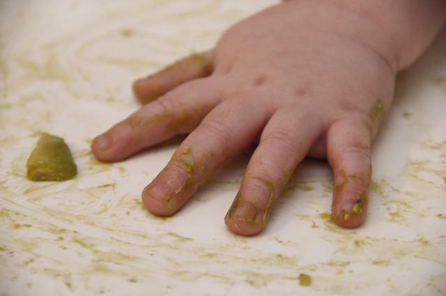 Baby Avocado Hand