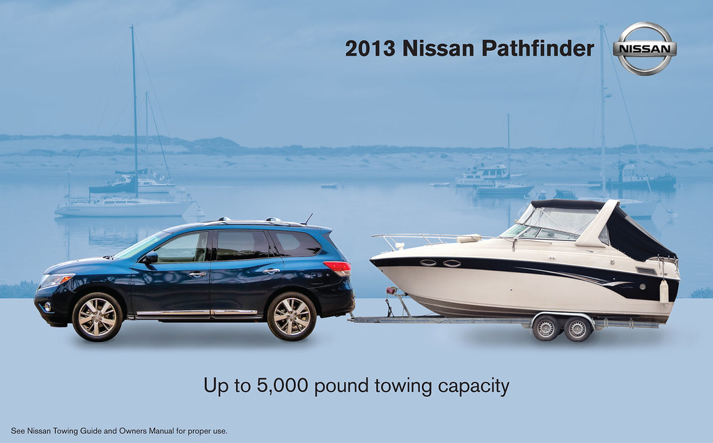 Infographic 2017 Nissan Pathfinder Towing Capacity