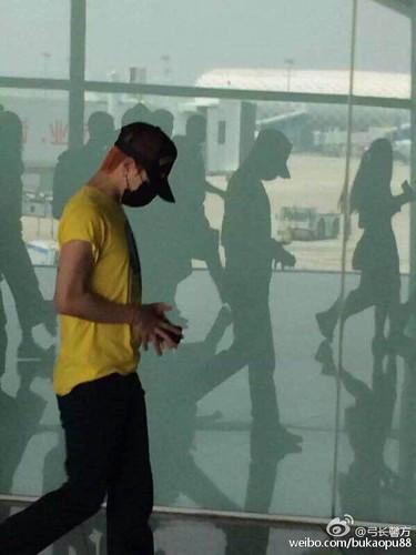 BIGBANG lArrival Shenzhen from Seoul 2015-08-07 037
