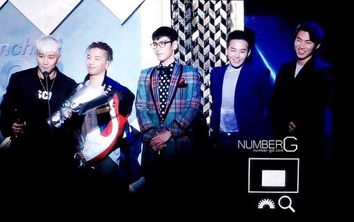 Big Bang - The 5th Gaon Char K-Pop Awards - 17feb2016 - Number G - 07