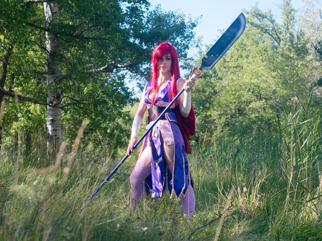 related image - Shooting Erza Scarlet - Robe de Yuen - Alpes de Haute Provence - 2016-08-14- P1520047