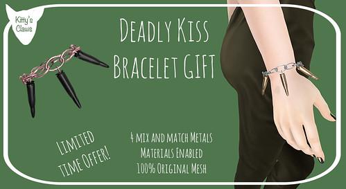 Kitty's Claws: Deadly Kiss Bracelet: Jackpot Gacha Gift