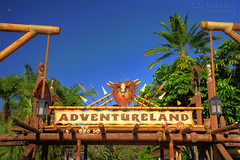 Adventureland Entrance - Disney's Magic Kingdom