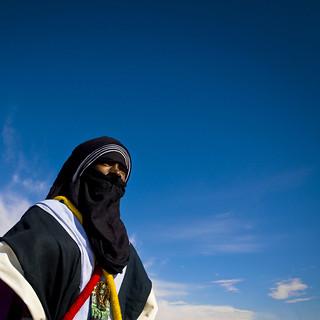 Portrait of a Tuareg tribesman, Ghadames, Libya