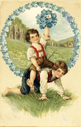 Childrenpostcard