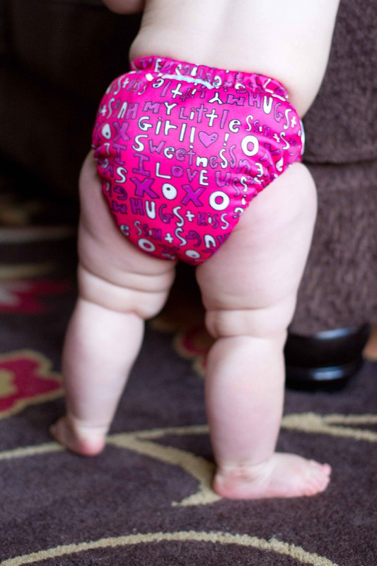 cloth diaper bum