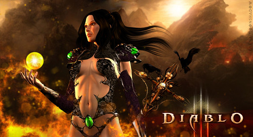 Diablo 3 Character Class Video Highlights the Wizard