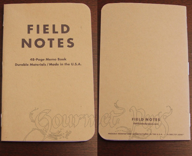 Field Notes Memo Book