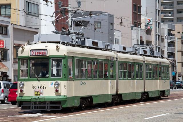 広島電鉄3100形