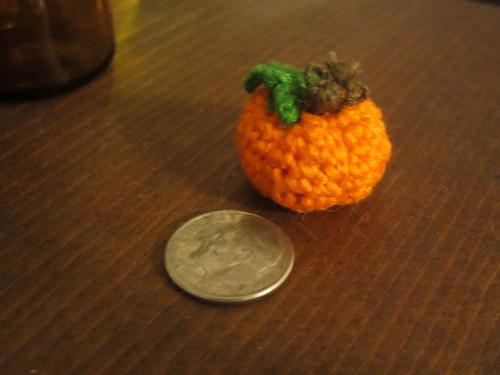 Tiny Pumpkin Amigurumi