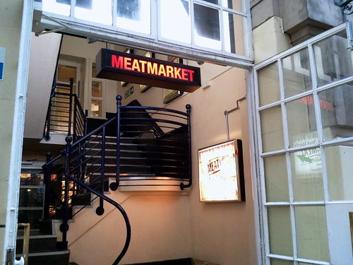 Entrance to MEATmarket on Tavistock Street