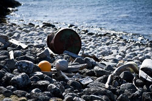海洋垃圾。(來源:Jan Fredrik Frantzen)