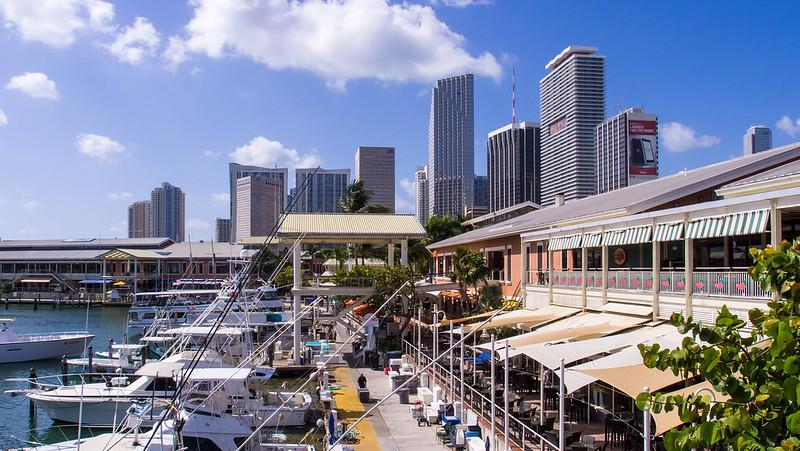 Bayside que ver en Miami en 2 días
