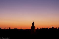 Sunset over Jemaa el-Fnaa