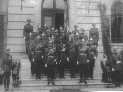 Pompieri militari români - 1935