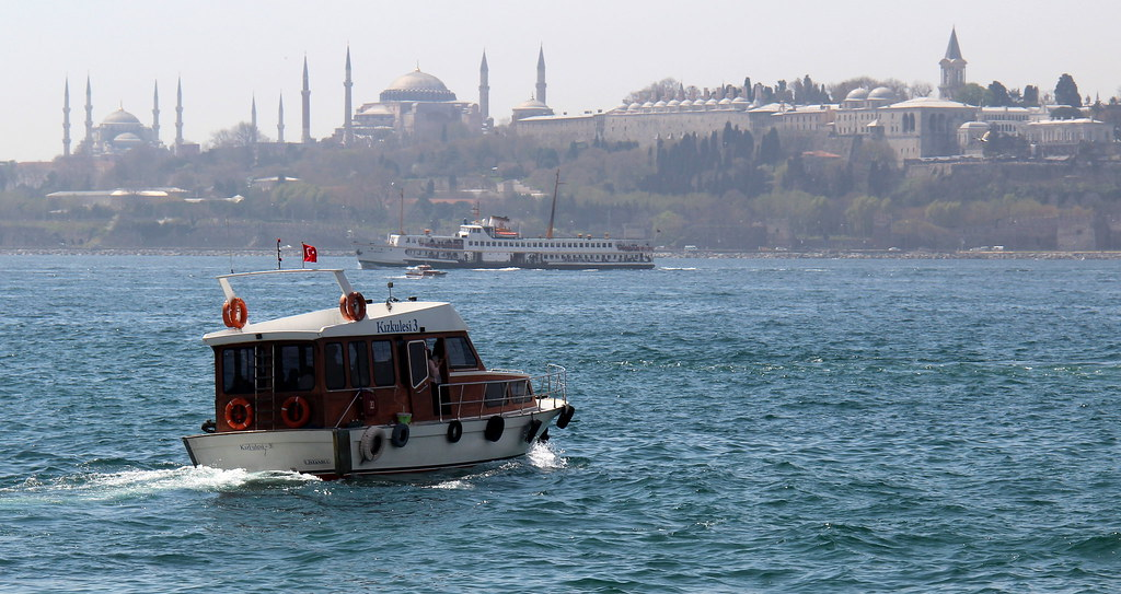 Boat Approaching the Golden Horn