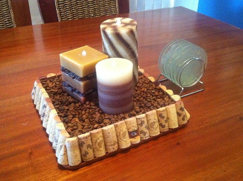 Three Candle Choc Coffee Design