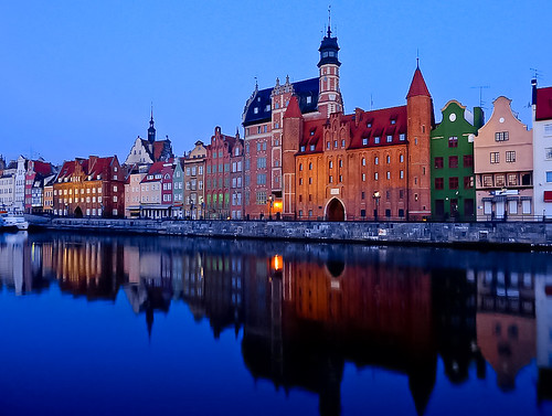 Early morning in Gdansk, Poland