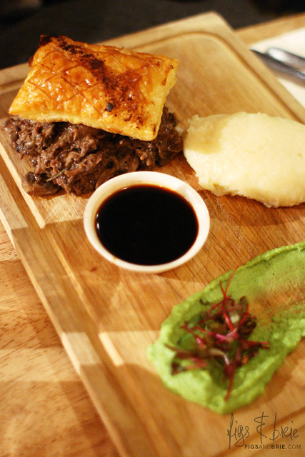 Deconstructed Beef, Mushroom & Ale Pie, The Duck Inn