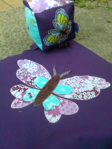 Papillon Cushion and Block