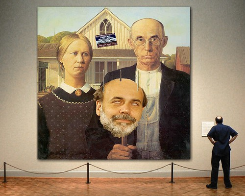 AMERICAN GOTHIC by Colonel Flick