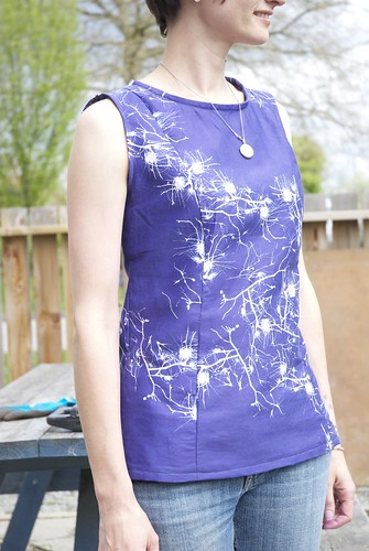 Pendrell Top in fabric by Forsythia Design