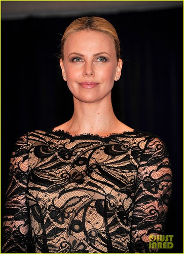 Charlize Theron attends the White House Correspondents Association Dinner