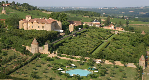 Chateau de Bagnols Beaujolais France