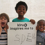 KLRU inspires me to ... Spell