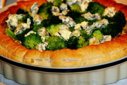 Broccoli, Leek & Blue Cheese Pie 2
