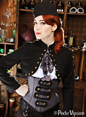 Felicia Day unlocking Steampunk modeling skill