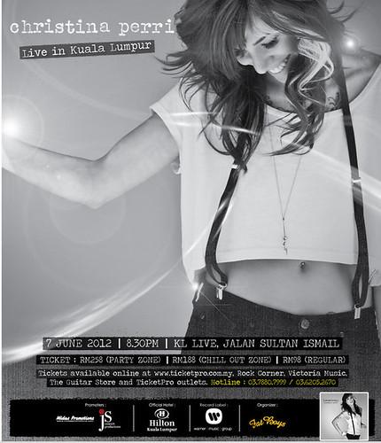 Christina Perri Live In Malaysia Concert