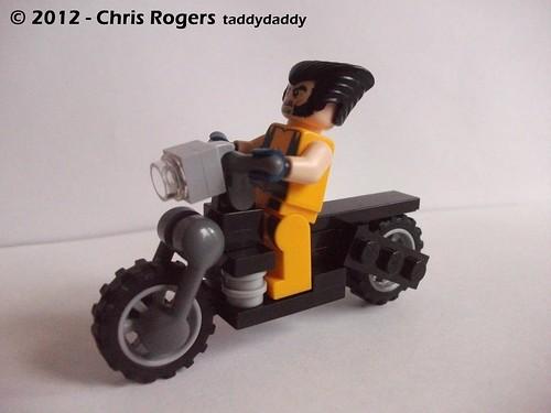 Lego Wolverines Harley 5