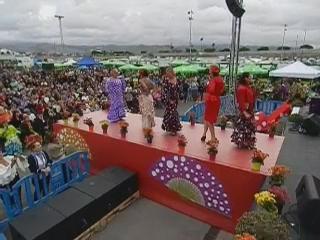 vídeo 08 Ambiente en el ferial V Feria Abril Las Palmas de Gran Canaria 2012