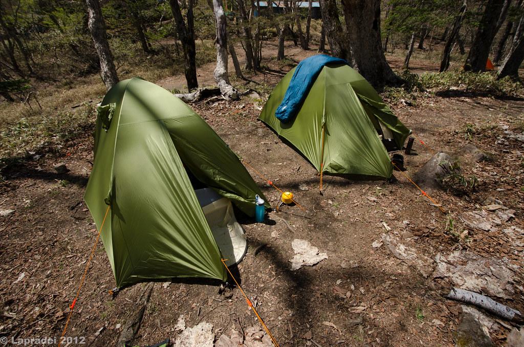 福ちゃん荘のテント場