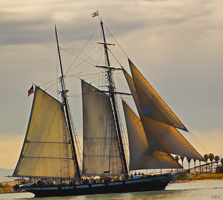 Tall Ship in San Diego Harbor [Explored]