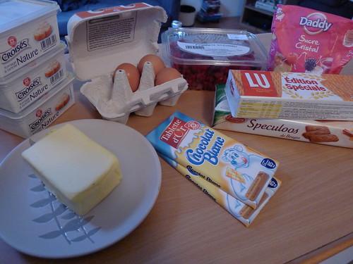 [Vie de Gourmand] Cheesecake framboise chocolat blanc