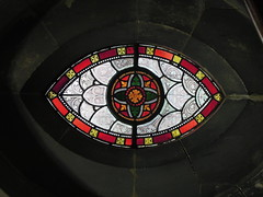 window(0.0), indoor games and sports(0.0), wheel(0.0), games(0.0), darts(0.0), dome(0.0), symmetry(1.0), glass(1.0), circle(1.0), stained glass(1.0),