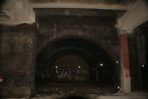 Under Smithfield Market railway
