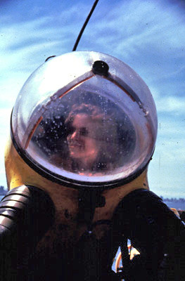 Sylvia Earle in a Submersible Suit