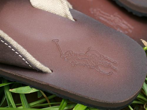 Ralph Lauren / Leather Sndal