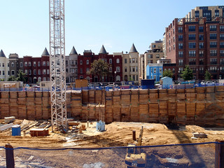 neighborhood construction in DC (by: Daniel Lobo, creative commons license)