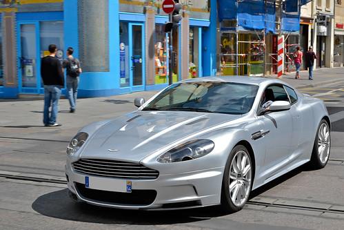 [Free Images] Transportation, Cars, Aston Martin, Aston Martin DBS ID:201206040000