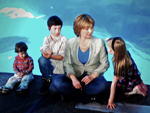 "Hannah floats her ""free ice cream for children"" plan to Christy Clark"