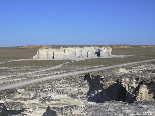 Formations at Monument Rocks National Natural Landmark, Kansas