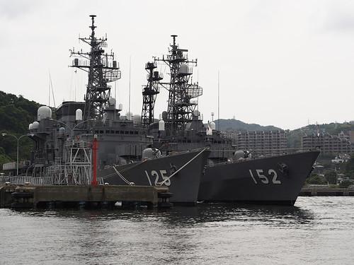 JMSDF DD125 SAWAYUKI&DD152YAMAGIRI by leicadaisuki