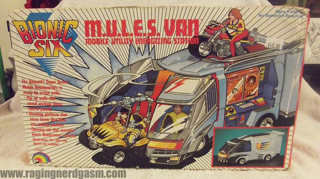 M.U.L.E.S Van from Bionic Six by LJN