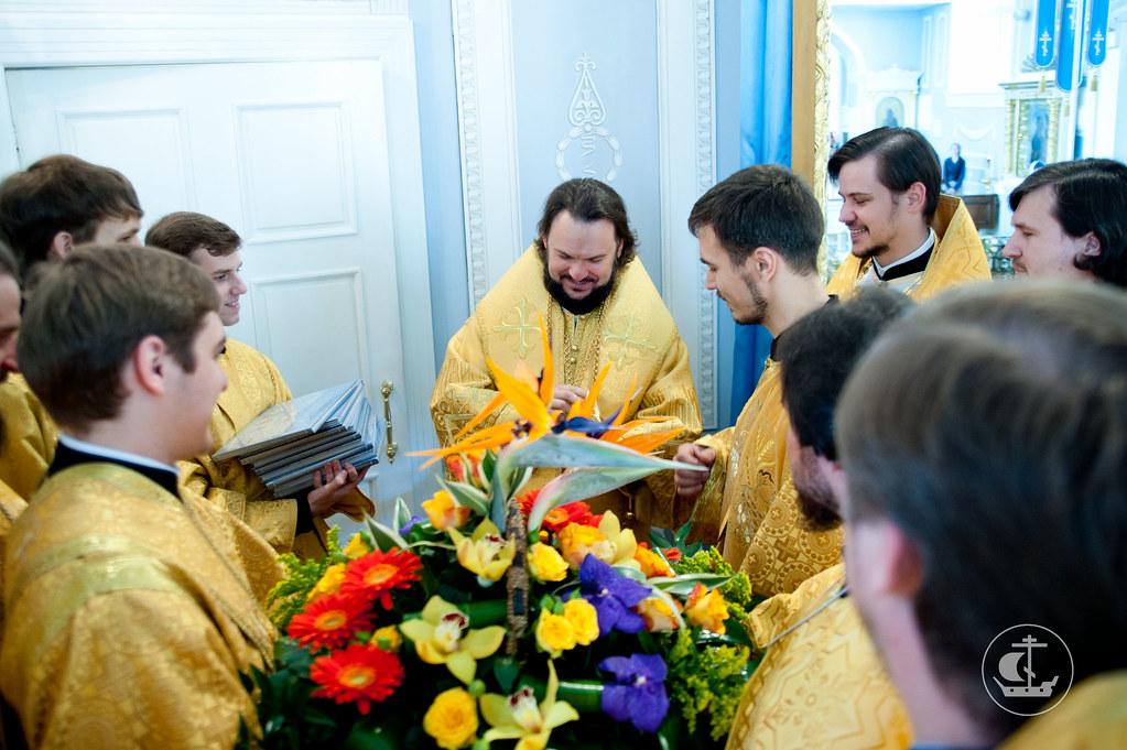 Поздравление епископа Амвросия с днем рождения